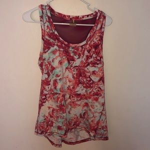 CALIA by Carrie Underwood Active Floral Tank